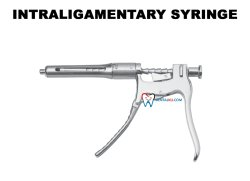 Endodontic Instrument Intraligamentary Syringe