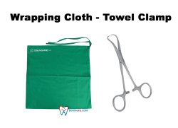 Preparation For Surgery Wraping Cloth  Towel Clamp